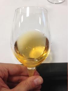 Vino da Uve Stramature Bianco Dolce - Perinelli - bicchiere