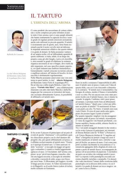 Articolo Tartufo - Dicembre 2014