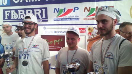 Campionato italiano nuovi pizzaioli- I vincitori