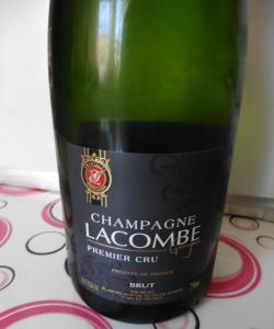 Champagne Lacombe - etichetta