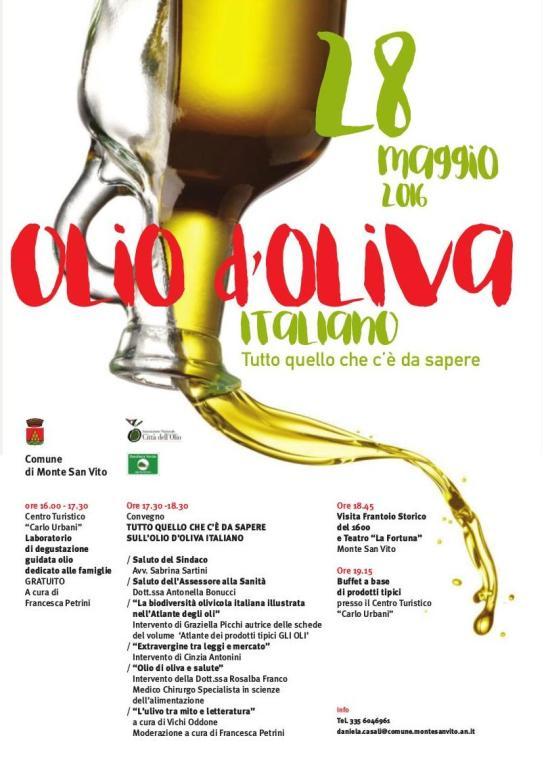 28 Maggio 2016 - Olio d'oliva italiano - Tutto quello che c'è da sapere