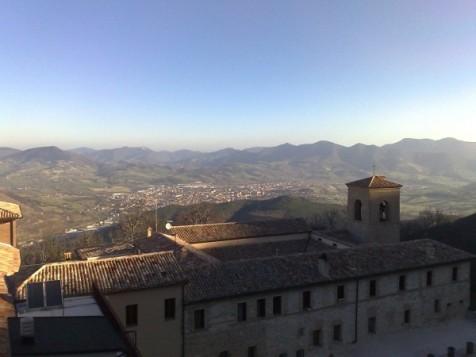Veduta dal monastero di Fabriano