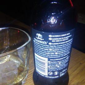 Crabbie's beer - retro
