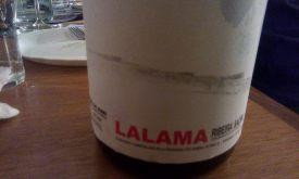 Lalama Ribeira Sacra 2012. Etichetta Fronte.