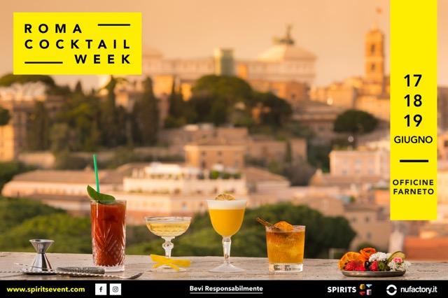 ROMA COCKTAIL WEEK 2017 locandina